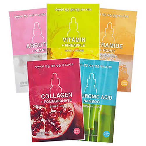 [Holika Holika] Ampoule Mask Sheet From Nature 18ml - Cosmetic Love