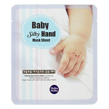 [Holika Holika] Baby Silky Hand Mask Sheet (1 Day) - Cosmetic Love