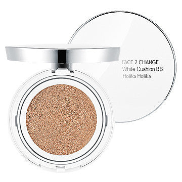 [Holika Holika] Face 2 Change White Cushion BB (SPF50+ PA+++) 20g - Cosmetic Love