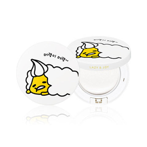 [Holika Holika] Gudetama Ver2 Facw 2 Change Photo Ready Tone-up Cushion SPF50+ PA+++ 15g - Cosmetic Love