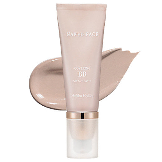 [Holika Holika] Naked Face Covering BB (SPF50+ PA+++) 40ml - Cosmetic Love