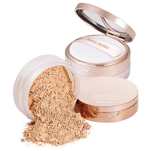 [Holika Holika] Naked Face Foundation Powder (SPF26 PA+) 10g - Cosmetic Love