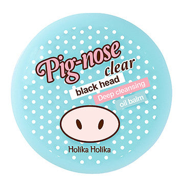 [Holika Holika] Pig Nose Clear Black Head Deep Cleansing Oil Balm - Cosmetic Love