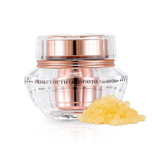 [Holika Holika] Prime Youth Gold Caviar Capsule Cream 50g - Cosmetic Love