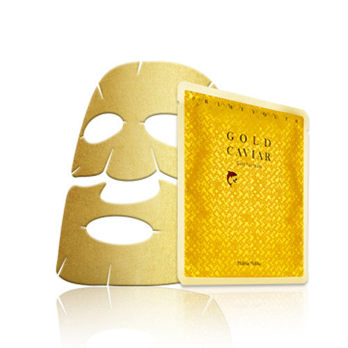 [Holika Holika] Prime Youth Gold Caviar Gold Foil Mask - Cosmetic Love