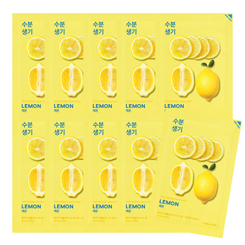 [Holika Holika] Pure Essence Mask Sheet 20ml #03 Lemon x10pcs