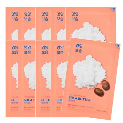 [Holika Holika] Pure Essence Mask Sheet 20ml #05 Shea Butter x10PCS
