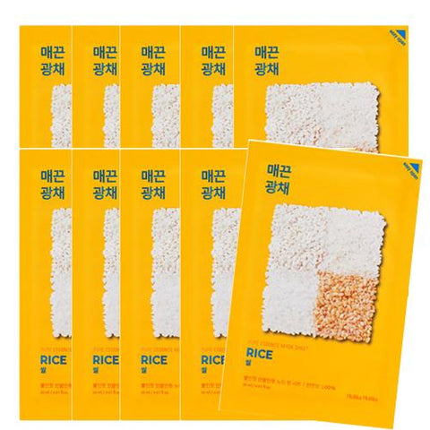 [Holika Holika] Pure Essence Mask Sheet 20ml #10 Rice x10PCS
