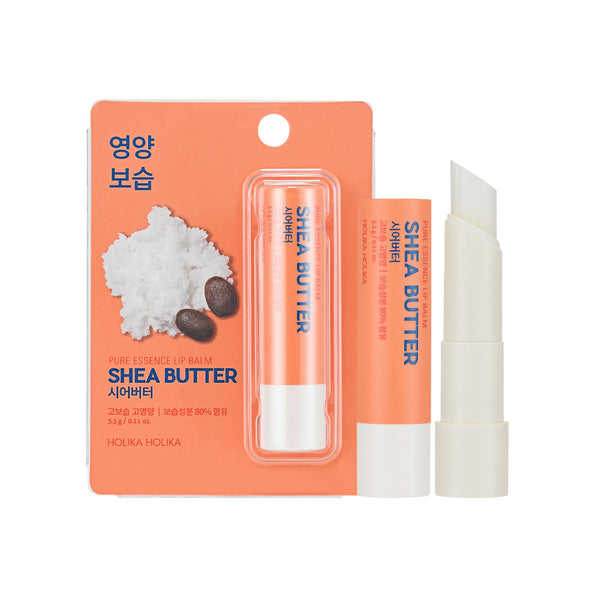 [Holika Holika] Pure Essence Shea Butter Lip Balm 3.3g