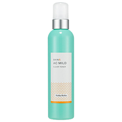 [Holika Holika] Skin And Ac Mild Clear Toner 245ml - Cosmetic Love