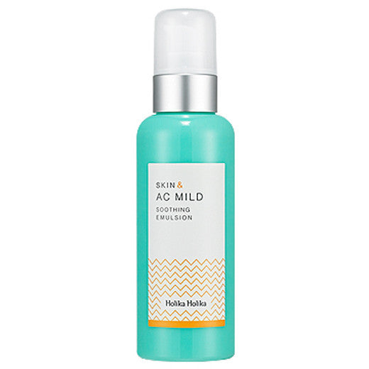 [Holika Holika] Skin And Ac Mild Soothing Emulsion 130ml - Cosmetic Love