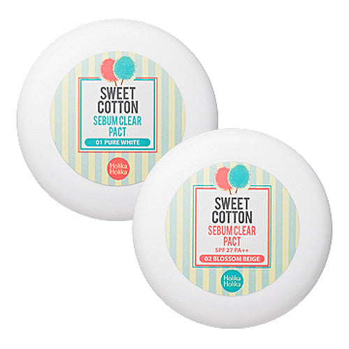 [Holika Holika] Sweet Cotton Serum Clear Pact - Cosmetic Love
