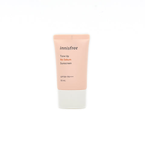 [Innisfree] Tone Up No Sebum Sunscreen SPF35 PA+++ 50ml