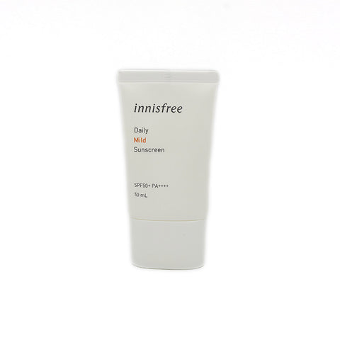 [Innisfree] Daily Mild Sunscreen SPF50+ PA++++ 50ml