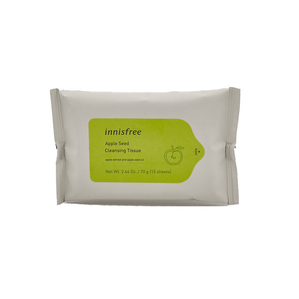 [Innisfree] Apple Seed Cleansing Tissue 15 Sheets
