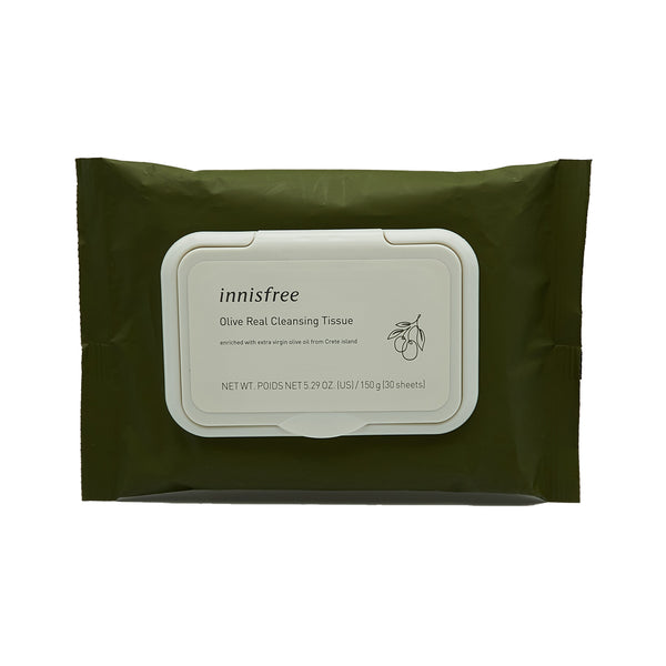 [Innisfree] Olive Real Cleansing Tissue 30 Sheets