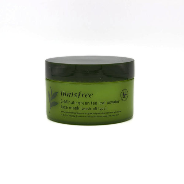 [Innisfree] 5-Minute Green Tea Leaf Powder Face Mask 70g