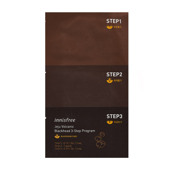 [Innisfree] Jeju Volcanic Blackhead 3 Step Program - Cosmetic Love