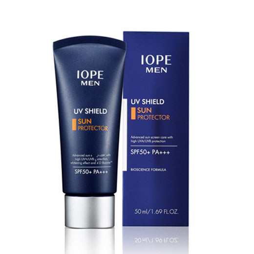 [IOPE] Men UV Shield Sun Protector SPF50+ PA+++ 50ml - Cosmetic Love