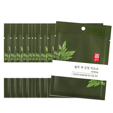 [IlliYoon] Tencel Skin Mask sheet #Mugwortx10pcs