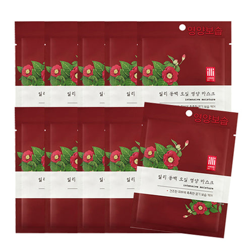 [IlliYoon] Tencel Skin Mask 1sheet #camelia x10pcs