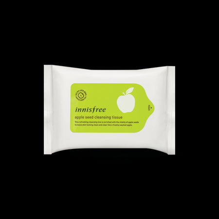 [Innisfree] Apple Seed Cleansing Tissue 15sheets - Cosmetic Love