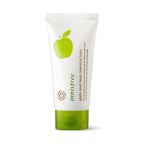 [Innisfree] Apple Seed Deep Cleansing Foam 150ml - Cosmetic Love