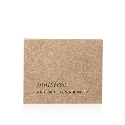 [Innisfree] Beauty Tool Natural Oil Control Paper 50ea - Cosmetic Love