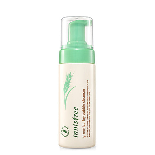 [Innisfree] Green Barley Bubble Cleanser - Cosmetic Love