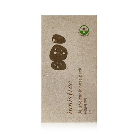 [Innisfree] Jeju Volcanic Nose Pack 6 Sheets - Cosmetic Love