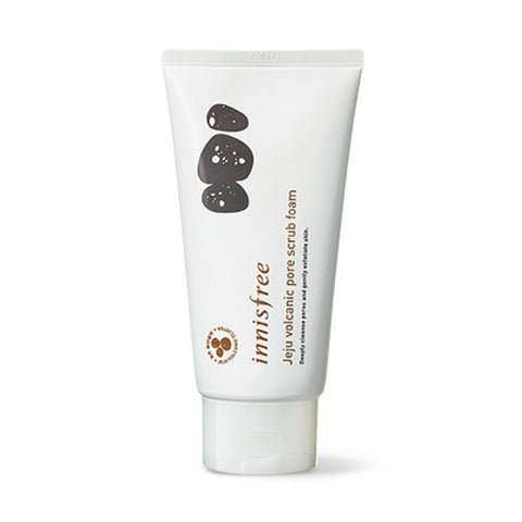 [Innisfree] Jeju Volcanic Pore Scrub Foam 150ml - Cosmetic Love