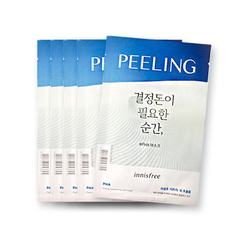 [Innisfree] Peeling Moment For Skin Mask 25ml x 5pcs
