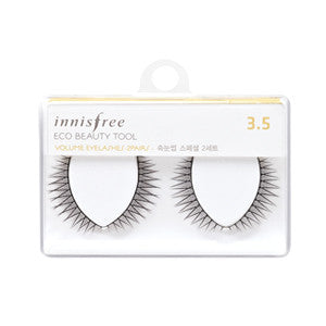 [Innisfree] Volume Eyelashes -2 Pairs - Cosmetic Love