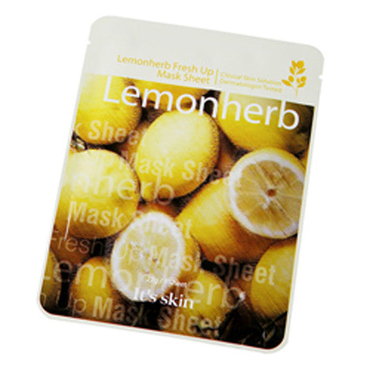 [It's Skin] Lemonherb Fresh Up Mask Sheet 22g - Cosmetic Love