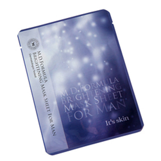 [It's Skin] M.D Formula Brightening Mask Sheet For Man 22g - Cosmetic Love