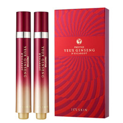 [It's Skin] PRESTIGE YEUX GINSENG D'ESCARGOT 15 ml * 2 - Cosmetic Love