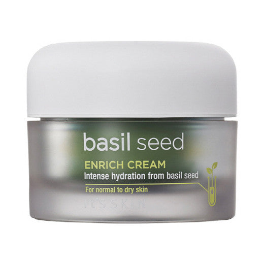 [It's Skin] Basil Seed Enrich Cream 50ml - Cosmetic Love