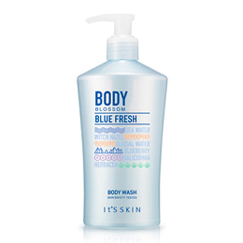 [It's Skin] Body Blossom Blue Fresh Body Wash 300ml - Cosmetic Love