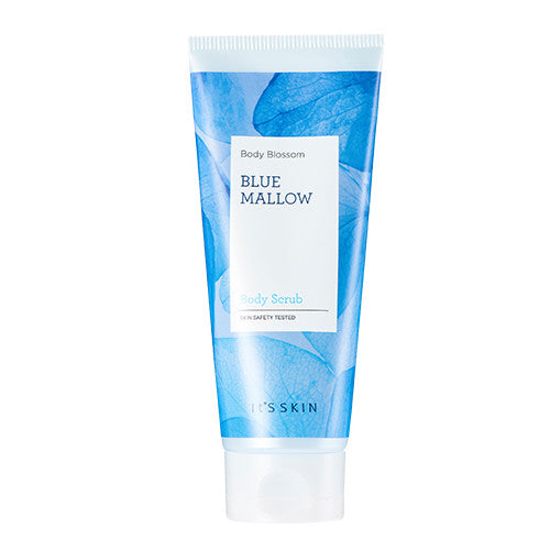 [It's Skin] Body Blossom Blue Mallow Body Scrub 150ml - Cosmetic Love