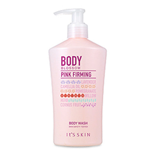 [It's Skin] Body Blossom Pink Firming Body Wash 300ml - Cosmetic Love