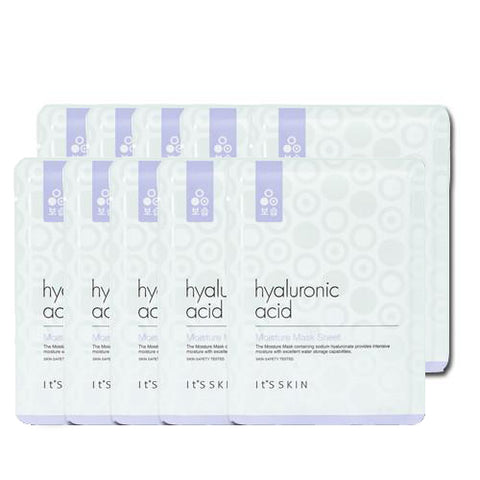 [It's Skin] Hyaluronic Acid Moisture Mask Sheet 1ea x 10pcs