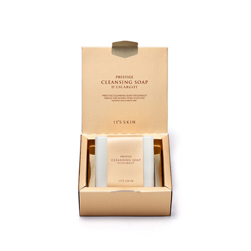 [It's Skin] PRESTIGE Cleansing Soap D'escargot 100g - Cosmetic Love