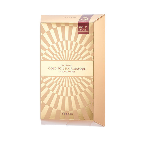 [It's Skin] PRESTIGE Gold Foil Hair Masque D'escargot 1SET