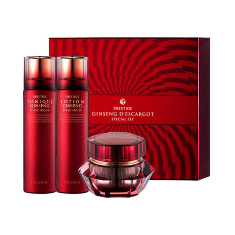 [It's Skin] Prestige Ginseng D'escargot Special Set - Cosmetic Love