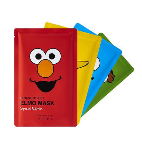 [It's Skin] Sesame Street Mask Special Edition 1sheets x 4PCS SET