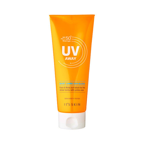 [It's Skin] UV Away Moist Jumbo Sun Block 150ml - Cosmetic Love