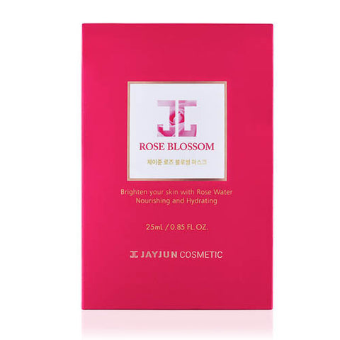[JAYJUN] Rose Blossom Mask (10 Sheets) - Cosmetic Love