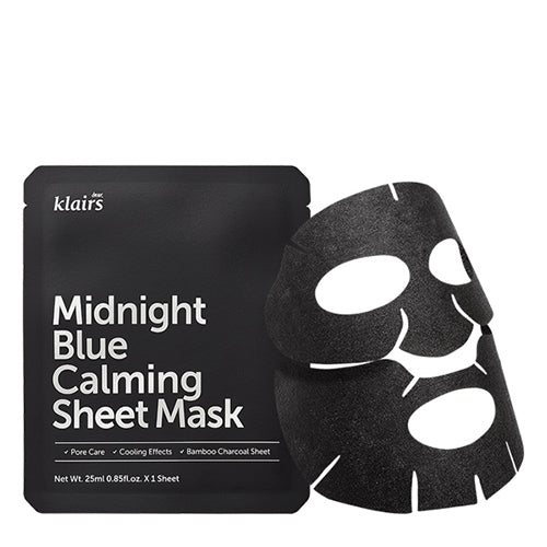 Midnight Blue Calming Sheet Mask by Klairs #16