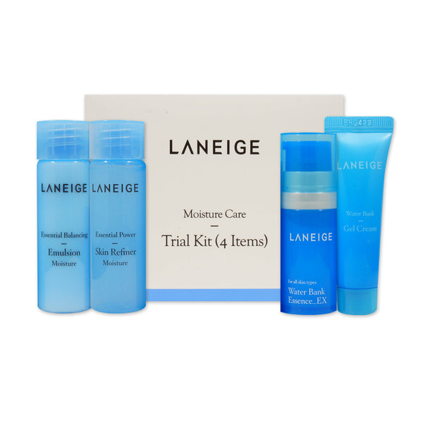 [Sample][Laneige] Basic Moisture Care Trial Kit (4 Items)