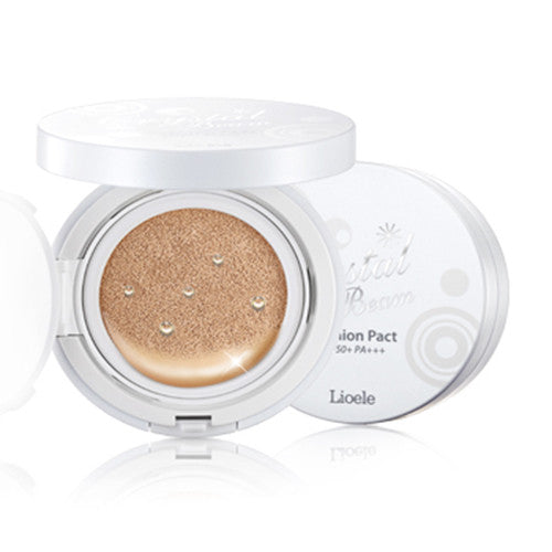 [Lioele] Crystal Beam Cushion Pact 15g - Cosmetic Love